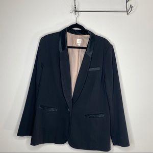 LC Lauren Conrad Back Tuxedo Style Blazer